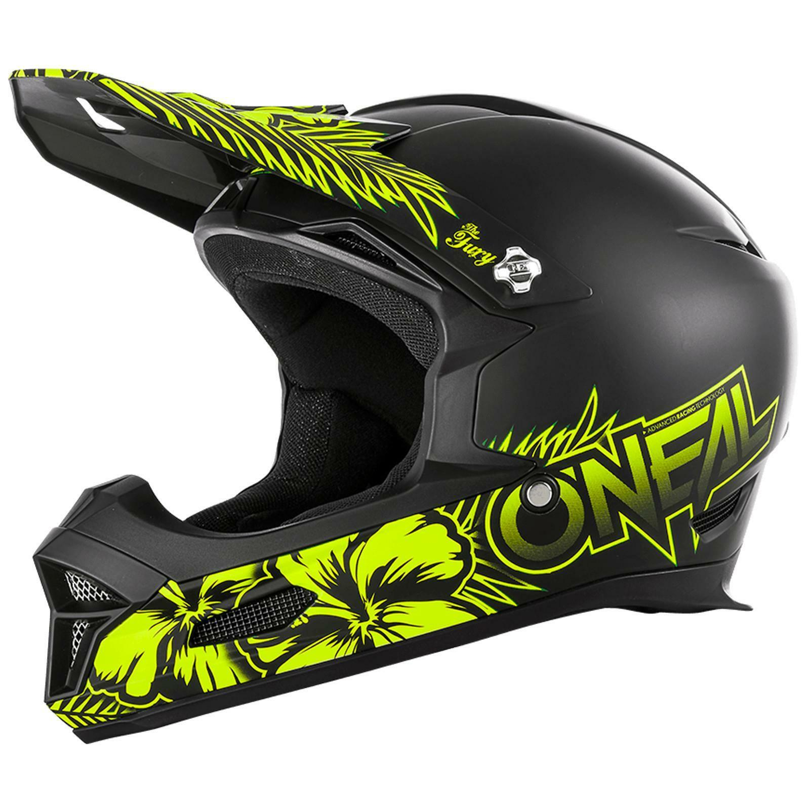 ONEAL Fury RL CASCO Maui ACTION CAM NERO MTB DOWNHILL DOWNHILL DOWNHILL Fullface MOUNTAIN BIKE d3af36