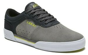 LAKAI-SHOES-STAPLE-GREY-CHARCOAL-SUEDE-MENS-AUST-SELLER-FOOTWEAR