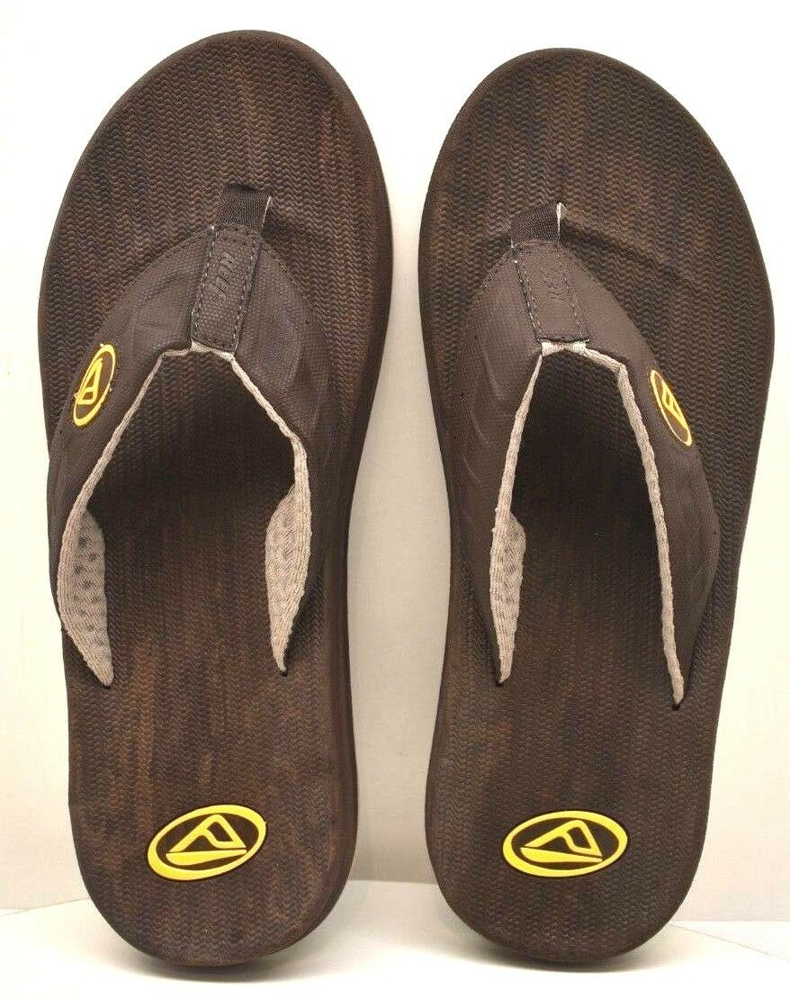 Reef  Sport Sandals Eva Men's Brown Yellow US Size 9 - FREE SHIPPING BRAND NEW