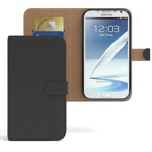 Handytasche-fuer-Samsung-Galaxy-Note-2-Bookstyle-EC-Karten-Schutzhuelle-Case