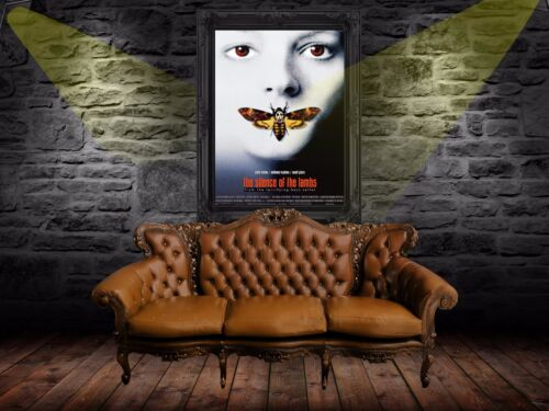 The Silence Of The Lambs 1991 Retro Poster A0-A1-A2-A3-A4-A5-A6-MAXI 610