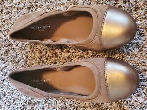 Easy Spirit Gessica Tan Ballet Flats 8
