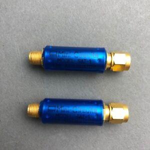 Lote-de-2-Mini-Circuits-SAT-1-1db-Atenuador-50-DC-a-1500MHz