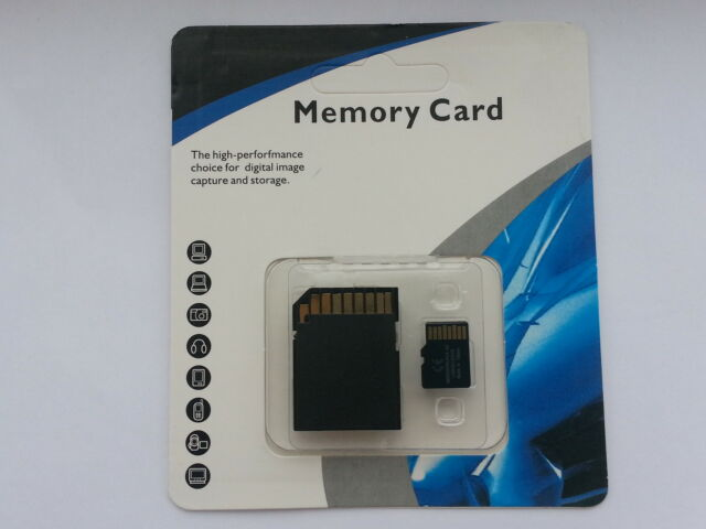 DE 32GB SD HC TF memory Card for phone, tablet, camera, gps, pda etc.