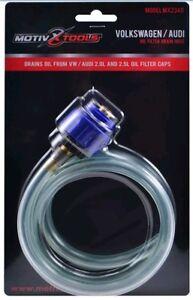 Motivx Tools VW /& Audi Oil Filter Drain Tool for Canister Style Oil Filter Housings