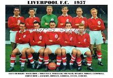 LIVERPOOL  F.C. TEAM PRINT 1957 (Season 1957-58)