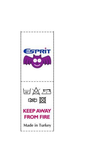 3x Baby Bib Bat Esprit Printing 100/%Cotton Soft Double Layer /& Face