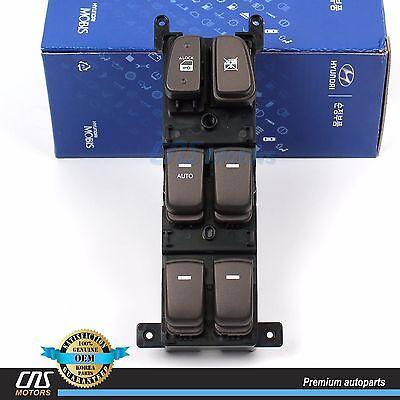 For Hyundai 08-10 Sonata 935703K600 New Power Window Switch Left Driver Side