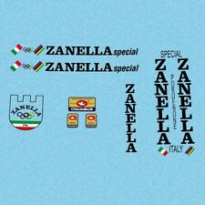 Stickers Black n.804 Zanella Bicycle Decals
