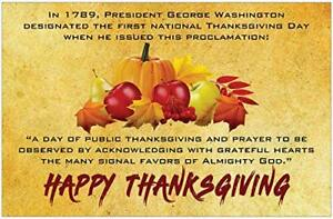 "Happy Thanksgiving Inspirational Christian 11"" x 17 ..."