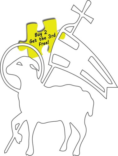Christ The Lamb Of God Decal Sticker #253