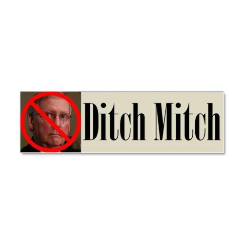 CafePress Ditch Mitch Car Magnet No Mitch Car Magnet 927728318