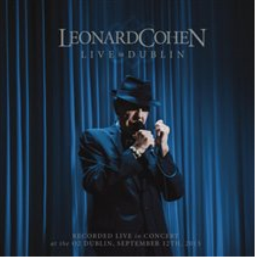 Leonard Cohen-Live in Dublin CD with Blu-ray NEW