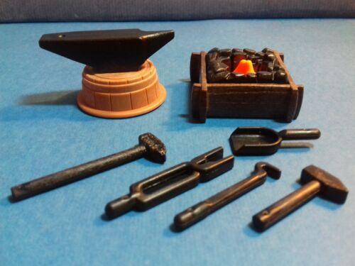 PLAYMOBIL Western l/'enclume La forge les outils du Maréchal-Ferrant