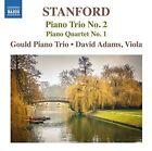 Stanford: Piano Trio No. 2; Piano Quartet No. 1 (CD, Jan-2015, Naxos (Distributor))