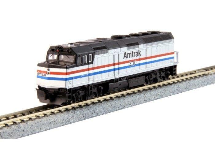 Kato 1766105 N escala F40PH Amtrak Phase III Dcc Listo Locomotora 176-6105