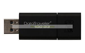 Kingston-USB-32GB-DataTraveler-100-DT100-Generacion3-G3-USB3-0-Flash-Drive-ct-ES