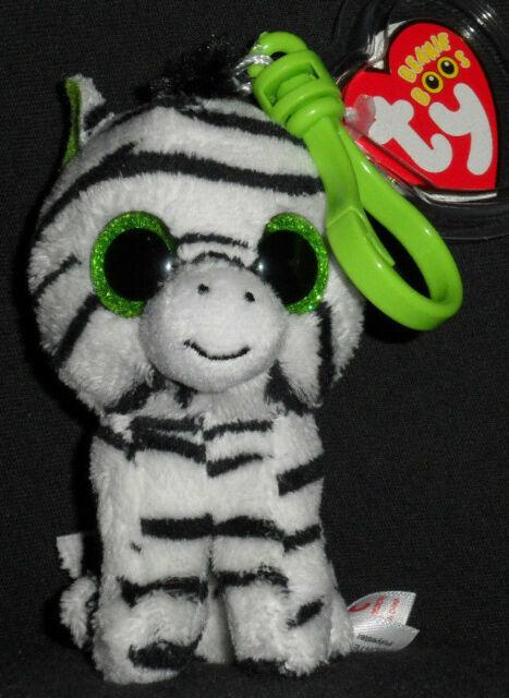 6 inch 2012 Tags MWMT Ty Beanie Boos ~ ZIG-ZAG  the Zebra