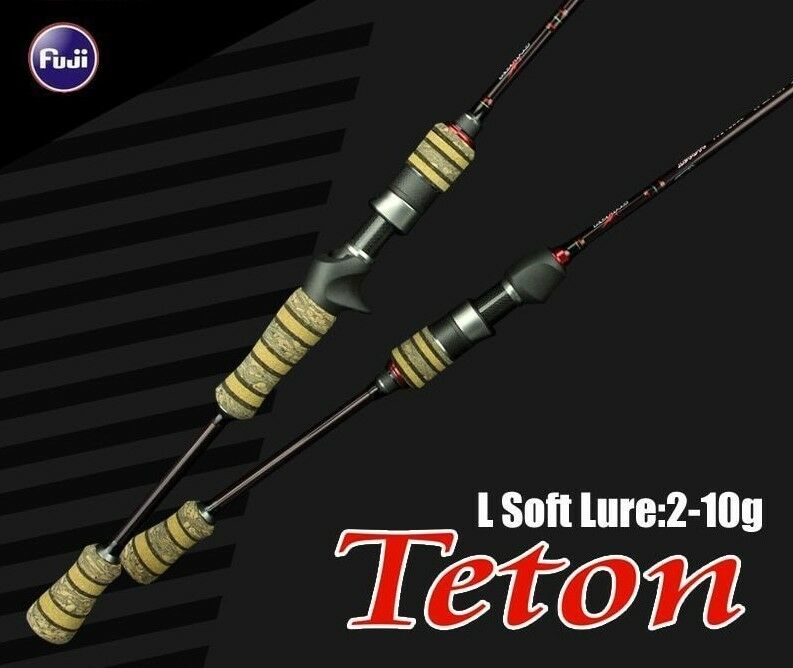 Baitcasting Spinning Lure Fishing Rod Soft Pole Cane Light Carbon Fiber Gear New