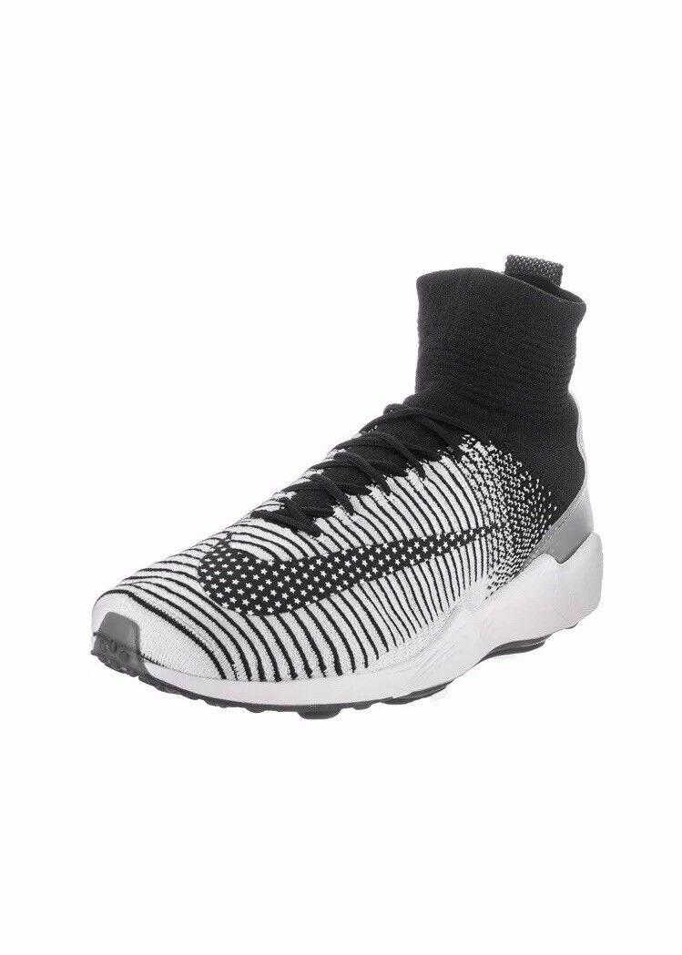 [852616-002] nike zoom volubile xi fk fc bianco nero uomini scarpe taglia