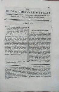 1784-NUOVO-GIORNALE-D-039-ITALIA-GASTRONOMIA-DIGESTIONE-MASTICAZIONE-DI-SPALLANZANI