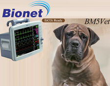 NEW Bionet BM5 Vet Next Multi-parameter Veterinary Vital Signs Monitor 4yr Warr.