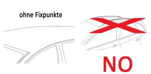 für Skoda Fabia II 07-14 Dachträger Original Stahl+Skiträger 4Paar Ski ausziehb