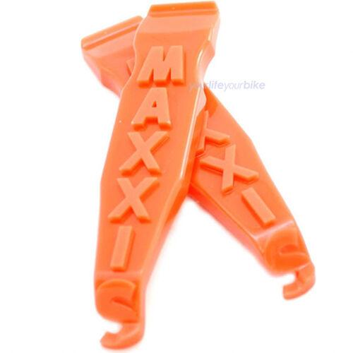 Maxxis premium pneus élévateur set Glasfiber Nylon pneu Outil orange tire lever