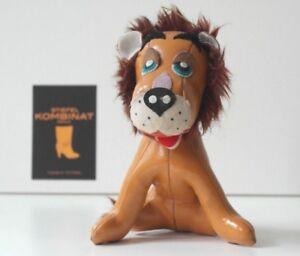 Antikspielzeug Sammeln & Seltenes PüNktlich Ledertier Antik 60er 70er Löwe Wenig Bespielt True Vintage Toy Lion 60s 70s