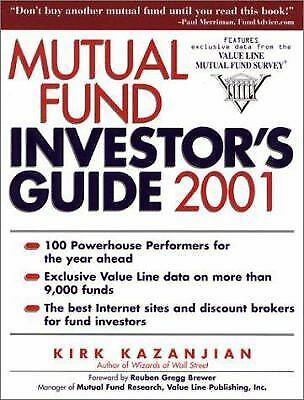 Mutual Fund : Invester's Guide by Kazanjian, Kirk