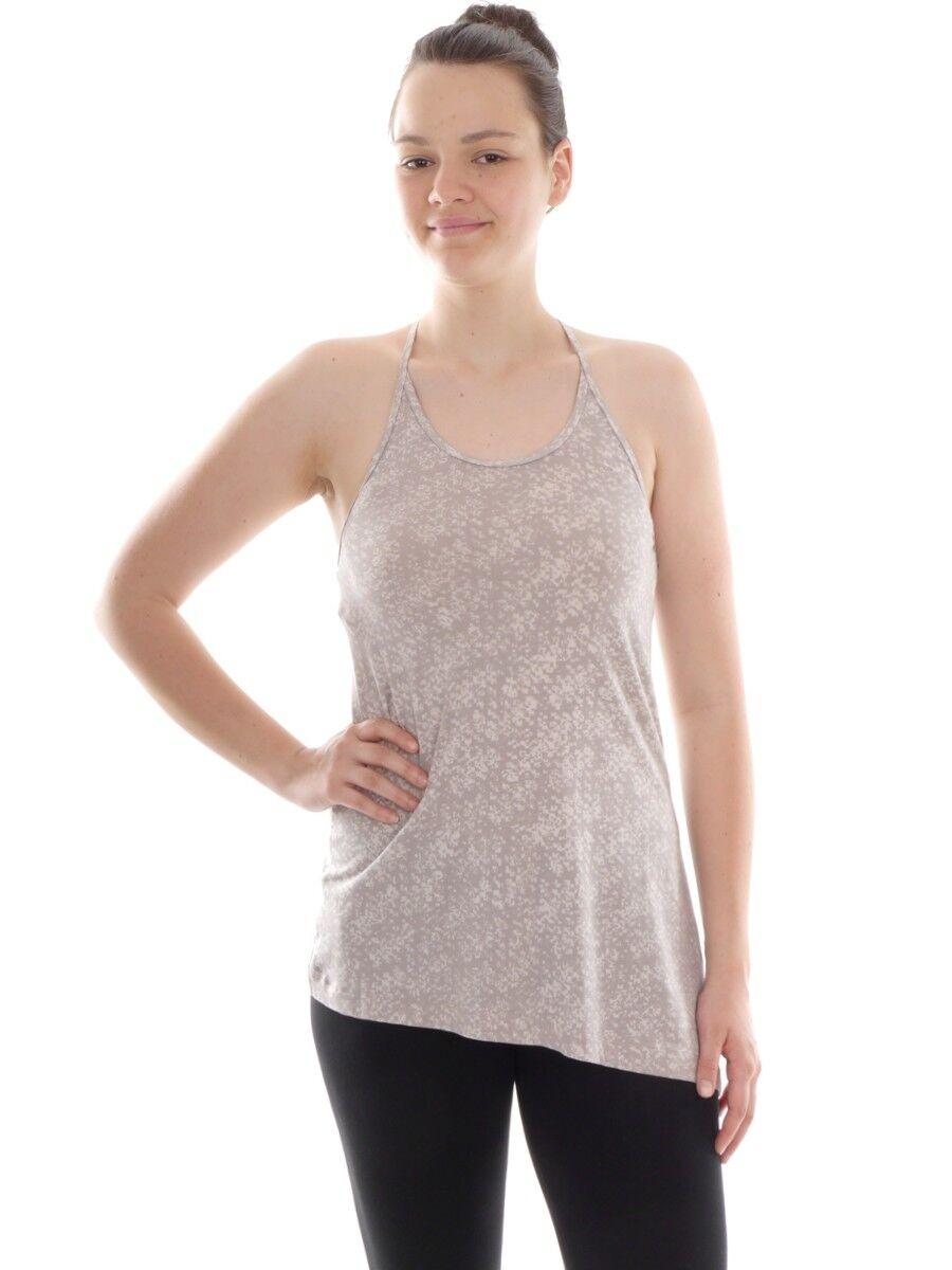 Lolë  Functional Shirt Vest Top Beige Eliotte Asymmetric  reasonable price
