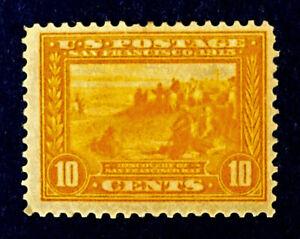 Scott US #400 - 1913 Commemorative, 10 Cents; Mint Hinged; OG; CV=$110