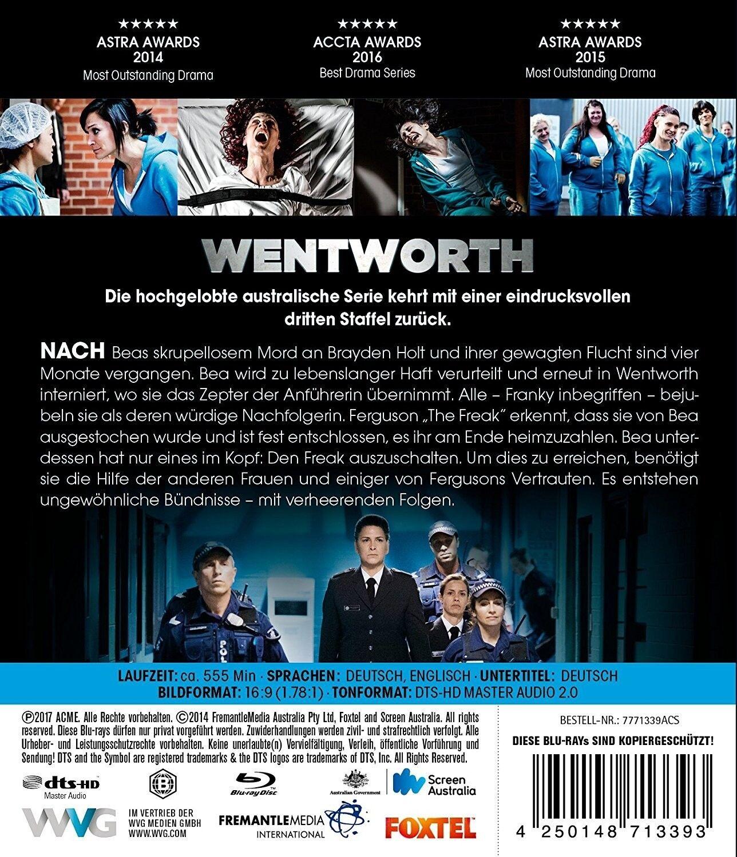 Wentworth Staffel 3 Danielle Cormack Nicole Da Silva 3 Blu Ray Neu