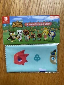 Nintendo Switch Animal Crossing Screen Cleaning Cloth NEW ...