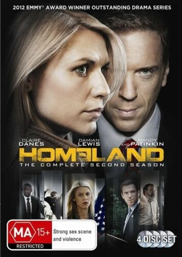 1 of 1 - Homeland : Season 2 (DVD, 2013, 4-Disc Set)