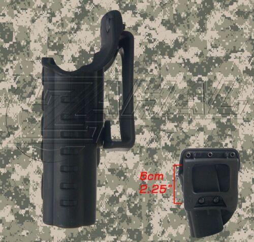 EM-17 Fobus Taktische Paddel// Gürtel// Rechts//Links Hand Halfter für Glock 17