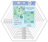 June Tailor You Hexie Thing Hexagon Ruler -new