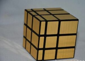 Shengshou Mirror Magic Ultra Smooth Professional Rubik S Cube Puzzle Twist Gold Ebay
