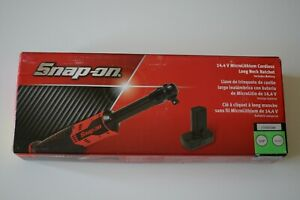 Snap-on-14-4V-Microlithium-Cordless-Long-neck-3-8-034-Ratchet-CTR767GWB