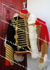 Image is loading French-Guard-Chasseur-a-cheval-Cape-Dolman-and-