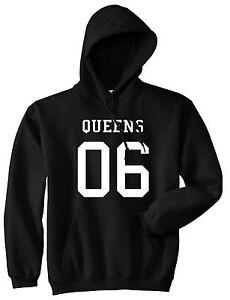 Kings Of NY Queens Team Jersey New York Crewneck Sweatshirt