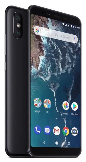 Xiaomi Mi A2 64GB 4GB Schwarz Android 9 Pie NEU OVP noch versiegelt