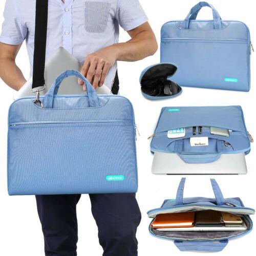 "Premium Canvas Fabric Sleeve Handle Zipper Bag for 13/""15/""Macbook Pro Air Retina"