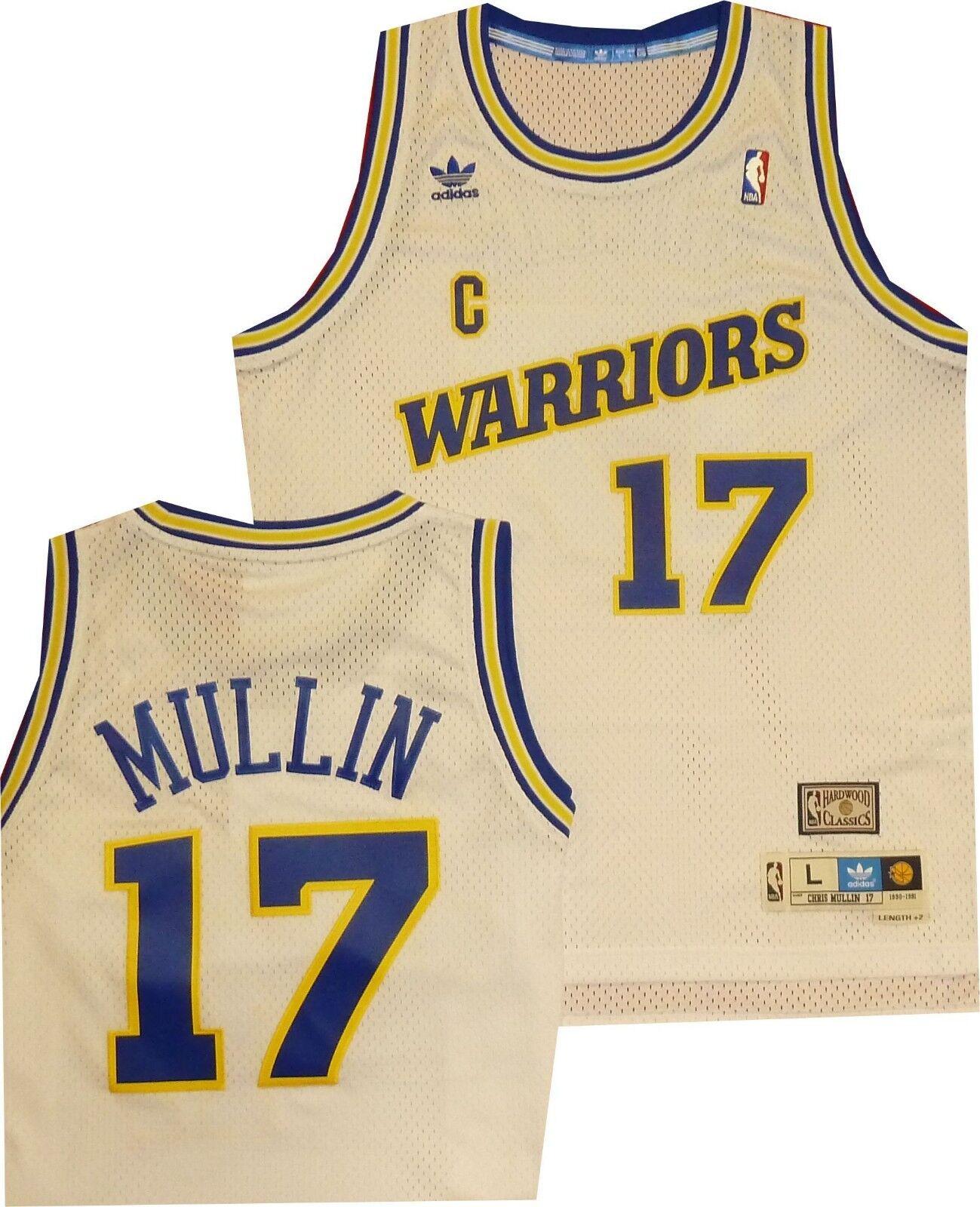 211b12ed9cb Golden State Warriors Chris Mullin Mullin Mullin White Adidas Swingman  Jersey 7484A Closeout aec8d5