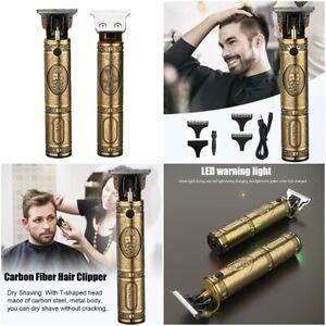 Cordless Rechargeable Professional Barber Salon Hair Cut Machine Trimmer Kit