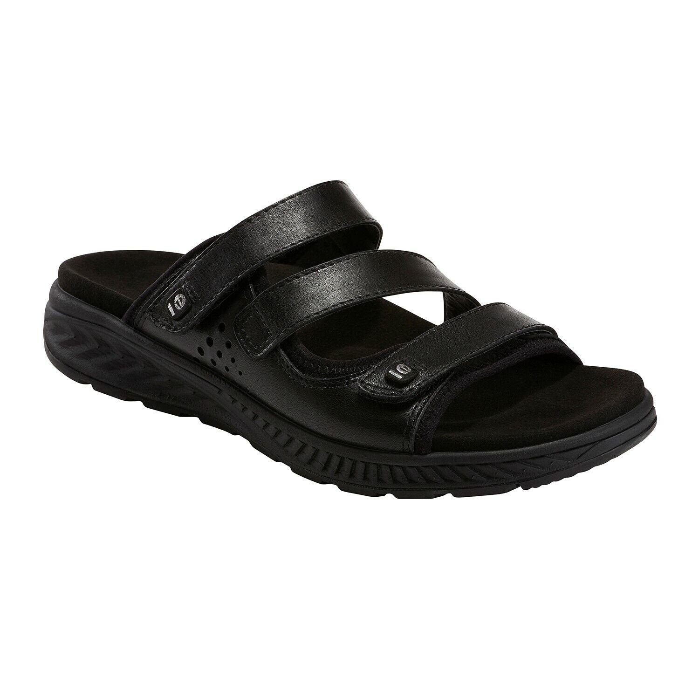Earth Loures - Women's Slide Sandal Black - 8.5 Medium
