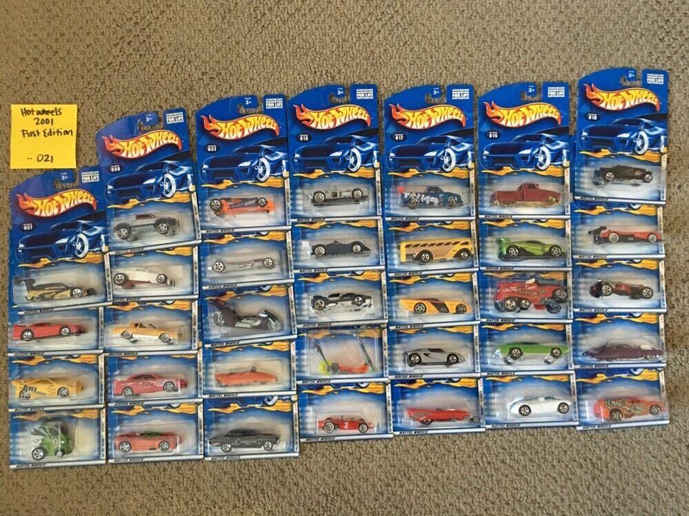 economico Caliente Ruedas 2001 primero ediziones ediziones ediziones Lot Of 34 autos -- 021  fino al 70% di sconto