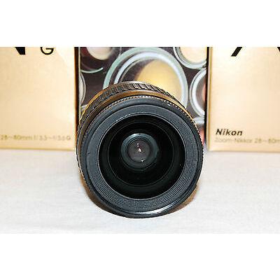 Beautiful Nikon Zoom-Nikkor AF-G 28-80 Lens with Warranty, For larger DSLRs