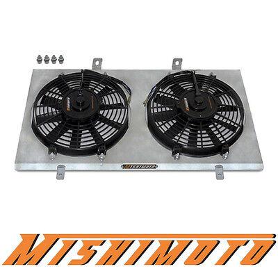 """Mishimoto Aluminum Radiator Fan Shroud Kit *12/"""" Fans* 93-98 Toyota Supra 2JZ"""