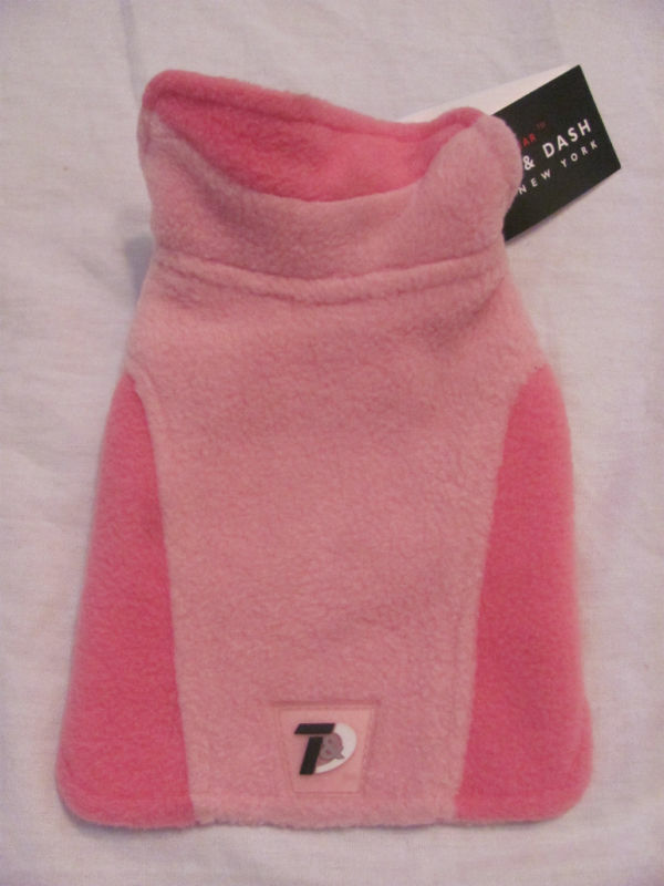 NEW TANNER & DASH RUFF WEATHER GEAR FLEECE PINK SZ 6